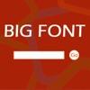 黑板白板寫大字·聊天神器·Big Font Blackboard