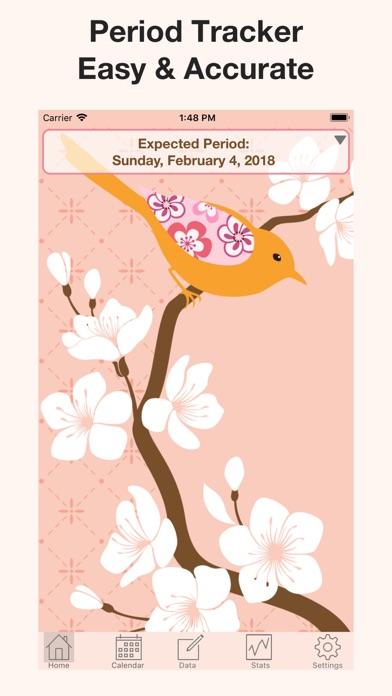 Menstrual Calendar FMC screenshot one