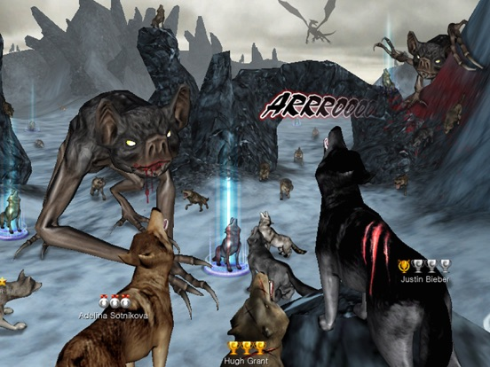 Screenshots of Wolf Online for iPad