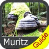 Muritz National Park - Topo