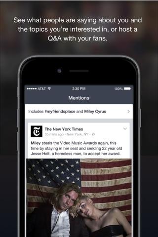 Facebook Creator screenshot 4