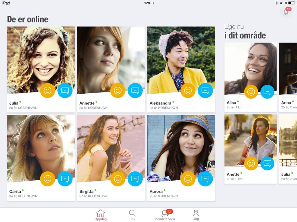 singlar nära dig app
