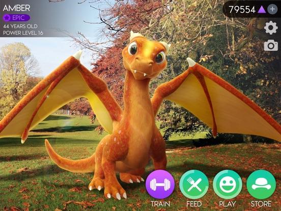 AR Dragon на iPad