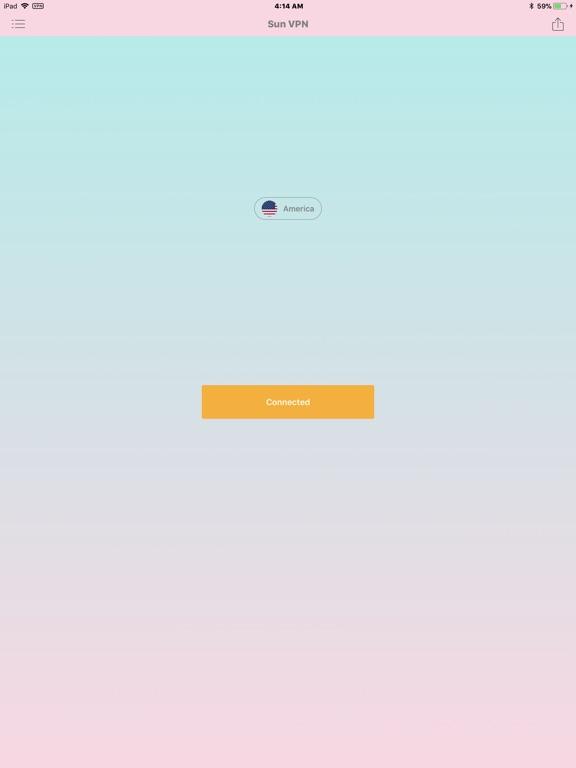 VPN - Sun VPN Unlimited Screenshots