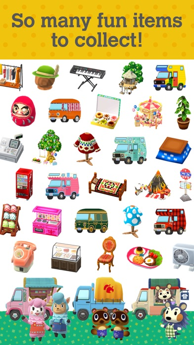 Screenshots of Animal Crossing: Pocket Camp for iPhone