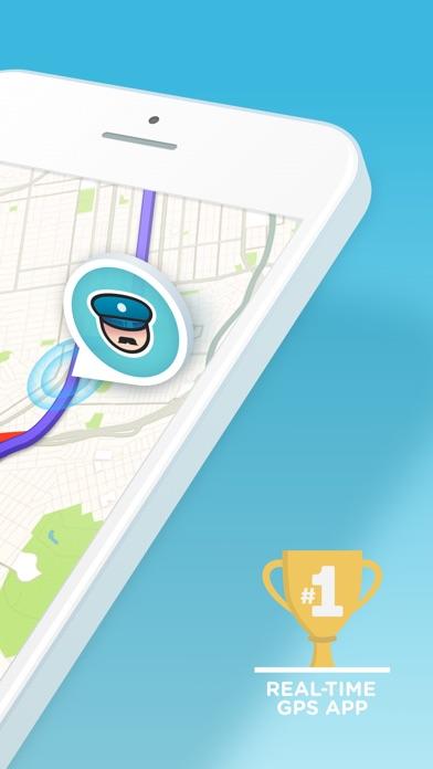 Waze social GPS traffic & gas Screenshot 2