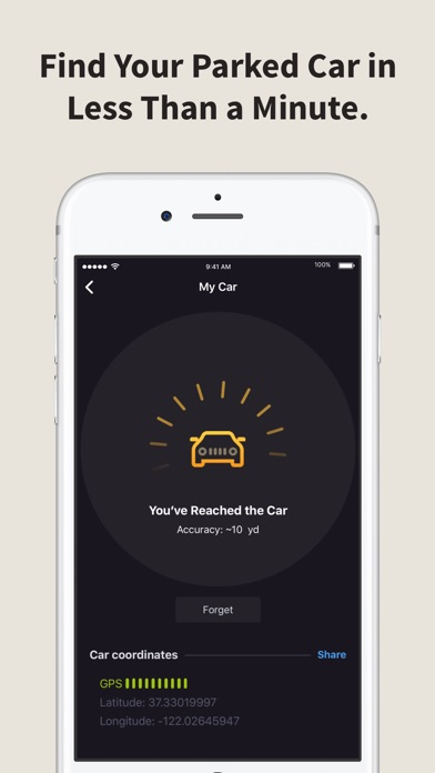 Anchor Pointer: Parked Car Finder Screenshots