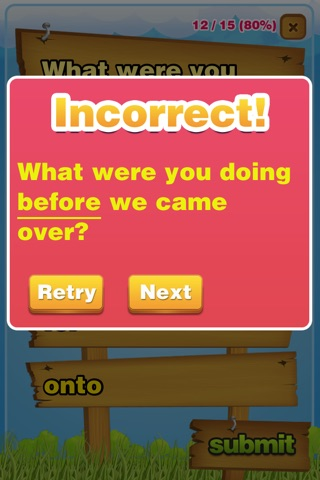 Prepositions Grammar Quiz K-5 screenshot 4