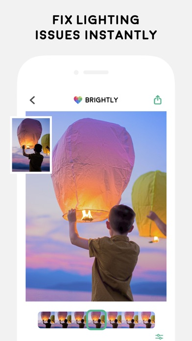 Brightly - Fix Dark Photos Screenshots