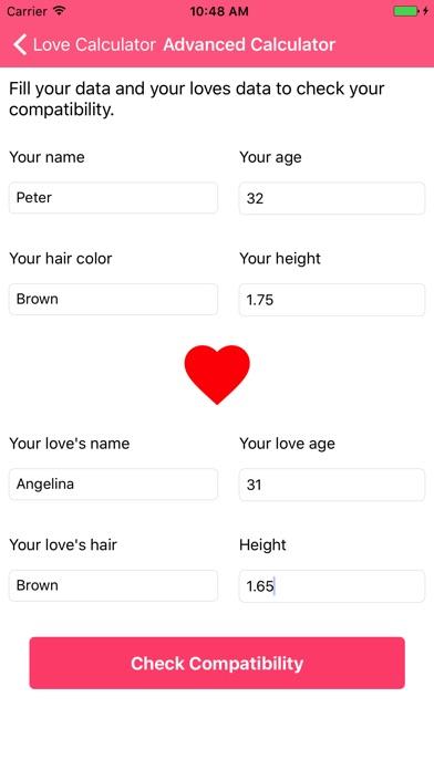 Калькулятор любви - тест Скриншоты4