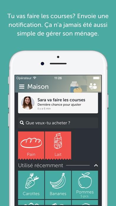 Favorit Bring! Liste de courses dans l'App Store SI58
