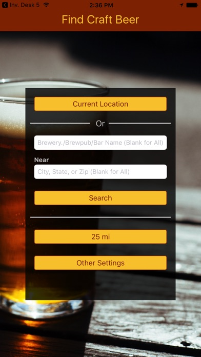 find craft beer on the app store