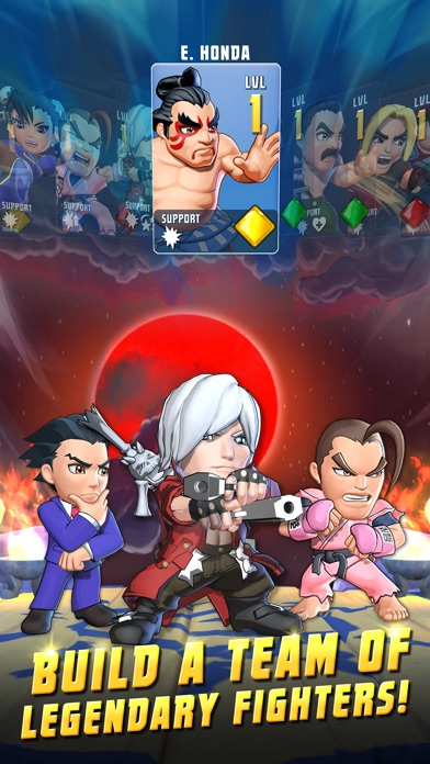 Screenshots of Puzzle Fighter for iPhone