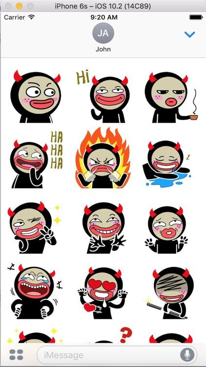 HellBoy - Insidious Emoji GIFs by Hai Dang