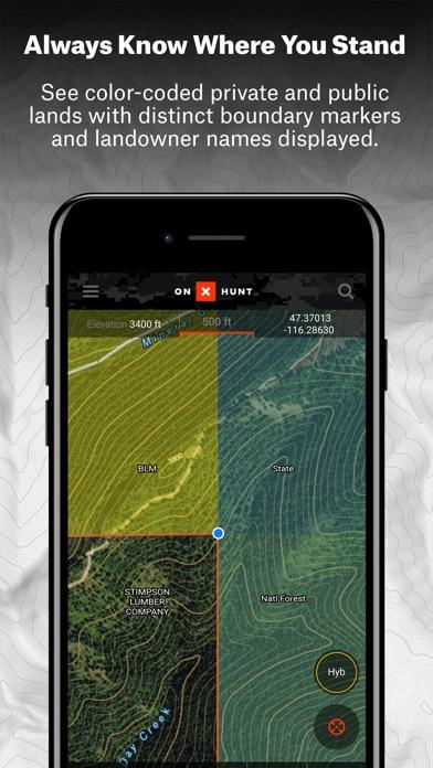 download onX Hunt: #1 GPS Hunting App apps 1
