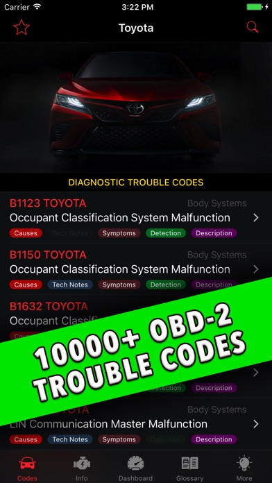 Toyota App! Screenshots