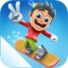 滑雪大冒险-极限滑板滑冰游戏