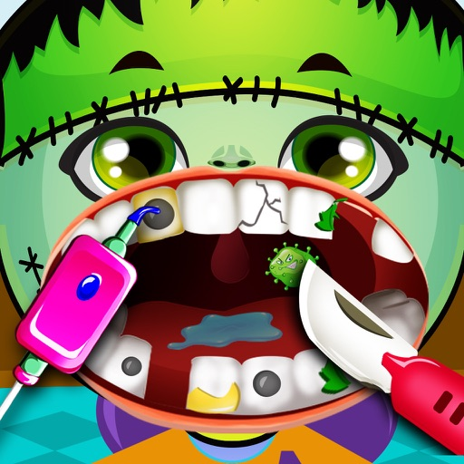 Kids Dentist Monster Halloween