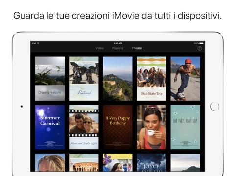 iMovie screenshot 4