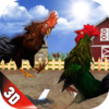 Christine Pokornik - Angry Rooster Fighting Battles  artwork