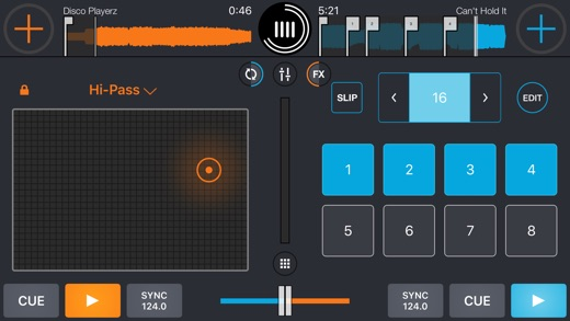 Cross DJ Pro Screenshots