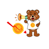 download Bitcoin Bear Stickers