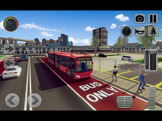 3D Bus Driving Academy Game screenshot 7