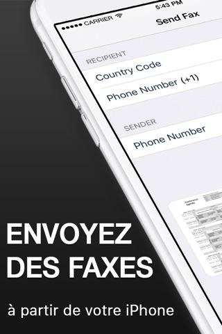 Fax App - Send Fax from iPhone screenshot 1