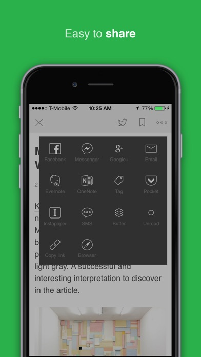 Feedly - Get Smarter Screenshot