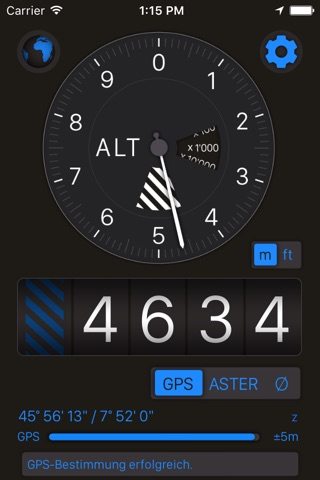 Altimeter+ screenshot 1
