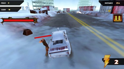 Hungry Zombies: Highway To Survive screenshot 1