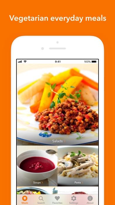 Veggie Meals Screenshots