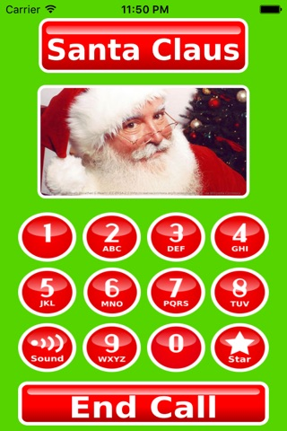 Call Santa Voicemail screenshot 1