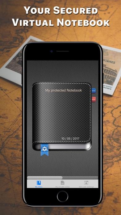Secret Business Notebook Screenshots