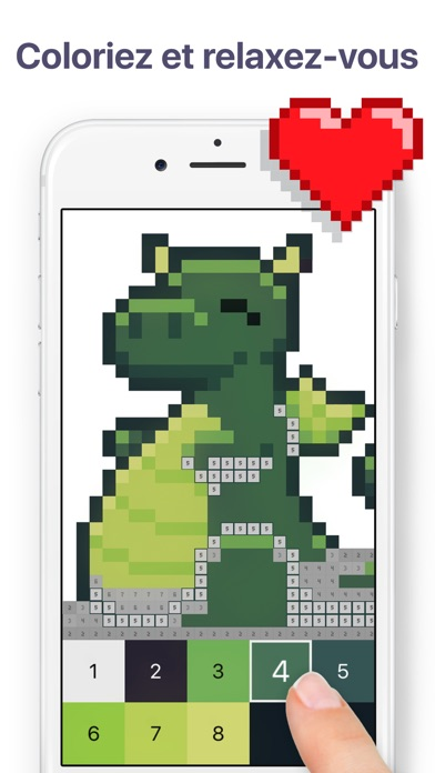 download Pixel Art - Couleur par numéro apps 0