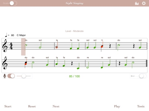 Sight Singing screenshot 3