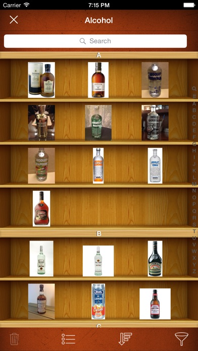 Screenshot for Alcohol Liquor Beer Collector in United States App Store