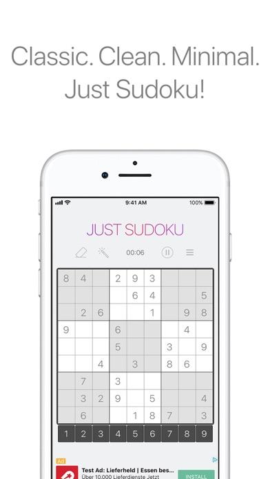Just Sudoku Скриншоты3