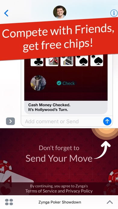 How to get free chips on zynga poker iphone app