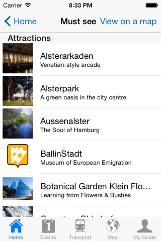 Hamburg Travel Guide Offline screenshot 4