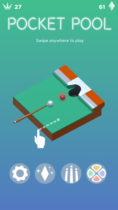 Pocket Pool iOS Screenshots