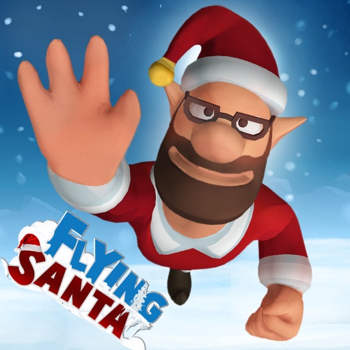 Flying Santa : Christmas Star Icon