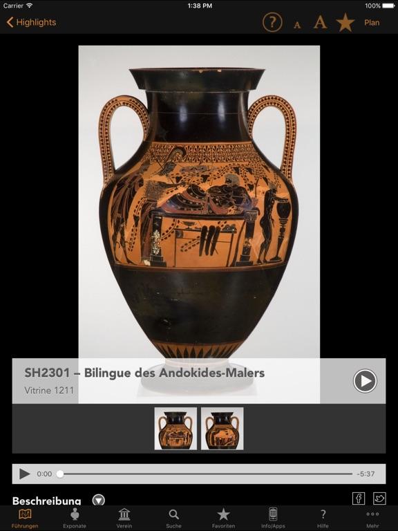 Antikensammlungen Mediaguide Screenshot