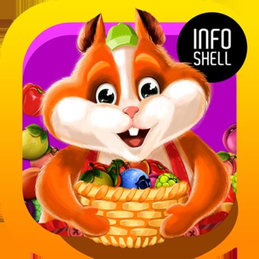 Fruit Hamsters-harvest on farm