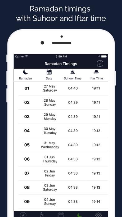 Screenshot of Ramadan 2018 Assistente4