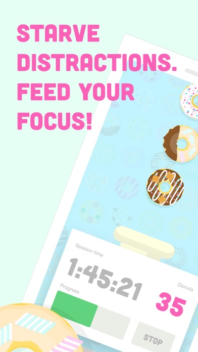 Donut Dog: Feed your focus! screenshot 1