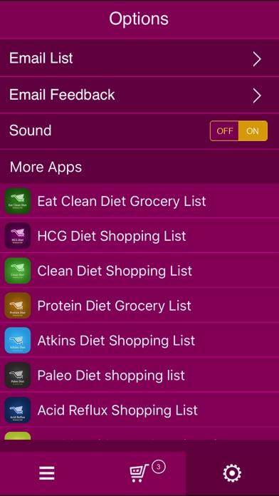 App Shopper: PCOS Diet Shopping List (Healthcare & Fitness)