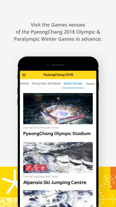 PyeongChang 2018 Official App screenshot 4