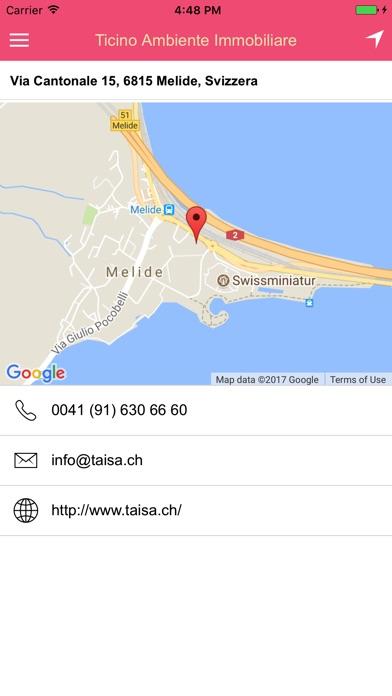 Screenshot von Ticino Ambiente Immobiliare4