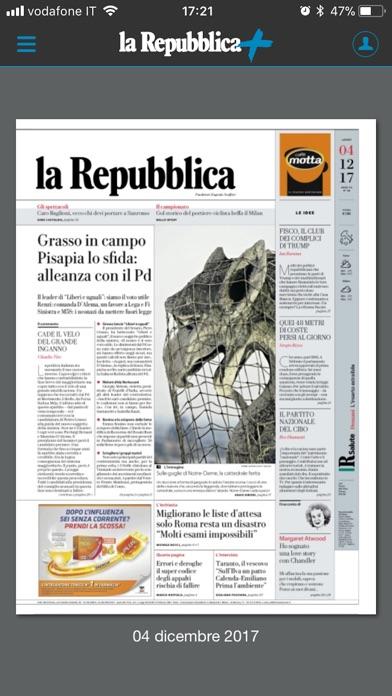 Screenshot of la Repubblica1